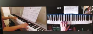 Cours piano internet